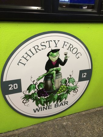 Thirsty Frog Wine Bar