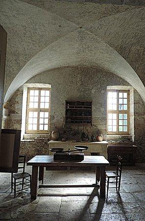 Château Abbaye de Cassan: La cuisine