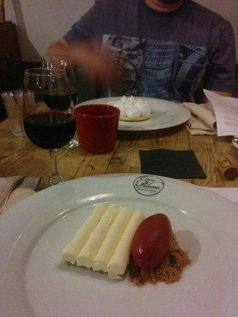 Casa Paloma: Fabulous cheese cake