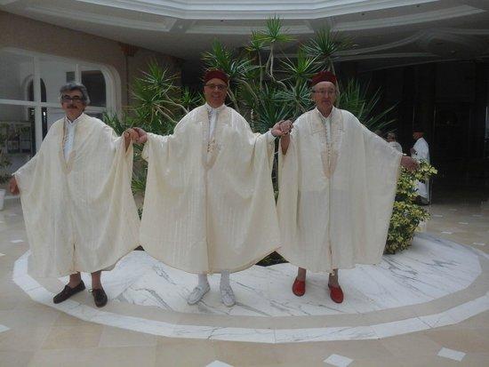 Golden Tulip Taj Sultan Resort: Nos beaux clients en Djebba Tunisenne