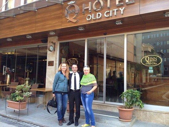 Q Inn Hotel Old City: Спасибо Вам!