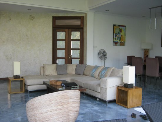 Villa Sancita: Living room