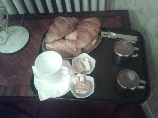 Hotel d'Argenson : La colazione