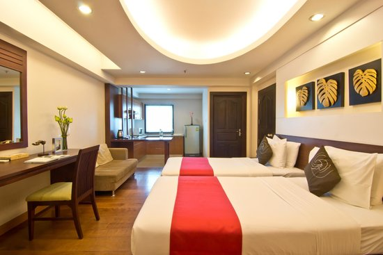 Golden Sea Pattaya Hotel: Studio Deluxe Room
