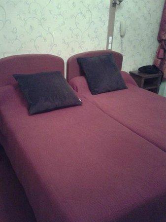 Hotel d'Argenson : I letti separati