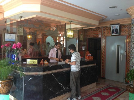 Hotel Astrid: The staff are helpful and english speaking