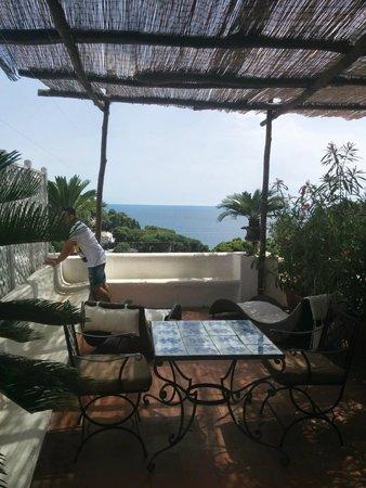 Villa Calypso: Terrazzino