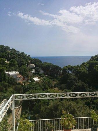 Villa Calypso: Panorama dalla camera