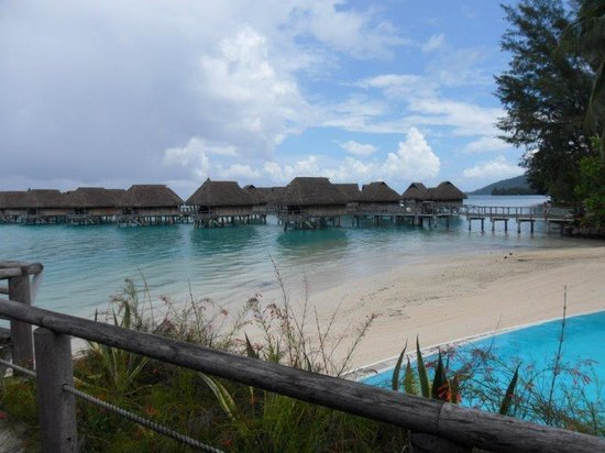 View Of The Beach Huts Picture Of Sofitel Moorea Ia Ora
