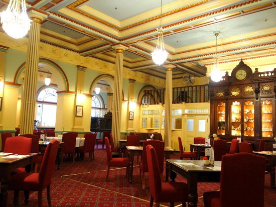 Grand dining room picture of the carrington hotel for The carrington