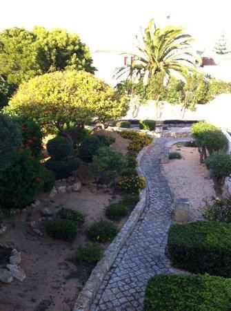 Romantik Villa: Il cortile