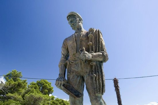 The Bronze Fisherman Statue