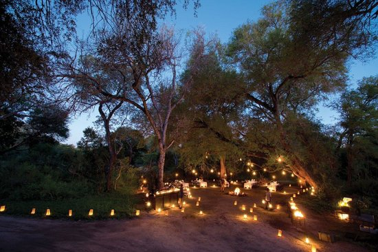 Lion Sands River Lodge: Boma dinner