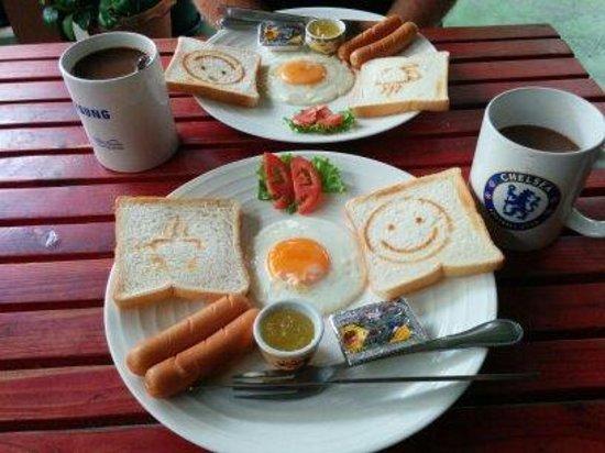 Khaosan Baan Thai: Complimentary Breakfast