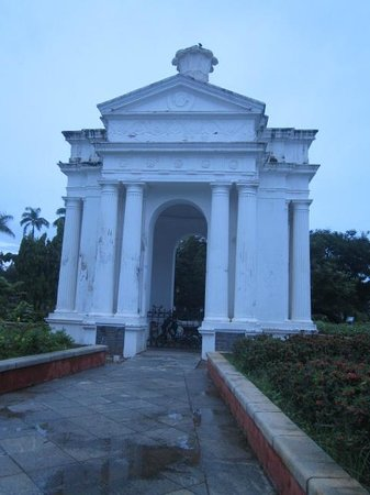 Bharati Government Park : monument