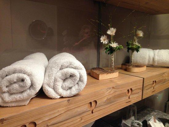 Lindner Parkhotel & Spa: Badezimmer