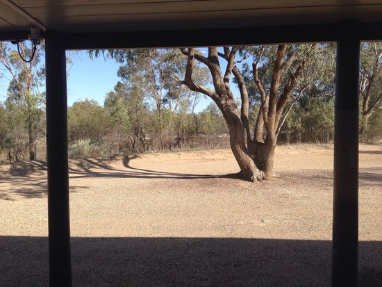 The Barwon Inn: View from the verandah