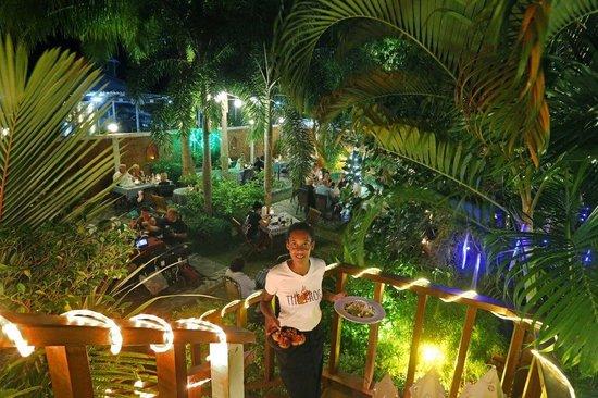 The Frog Wine Cellar & Restaurant : The frog's garden