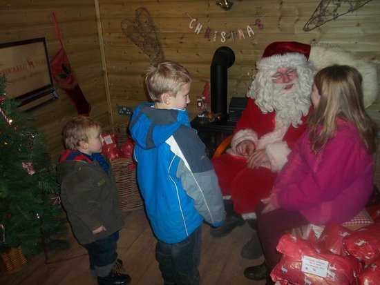 Stockeld Park: Seeing Santa