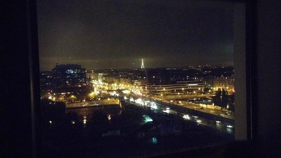 Novotel Paris La Defense : Uitzicht kamer 1108