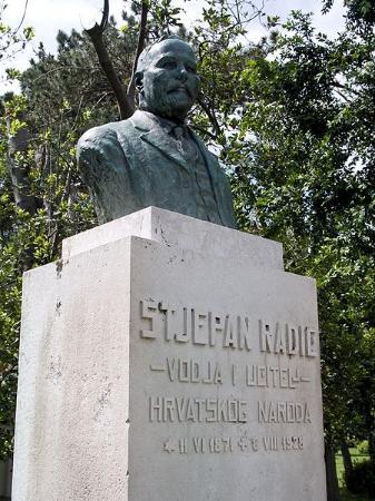 Stjepan Radic Monument