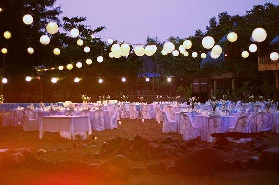 Crystal Beach Resort Wedding Grounds