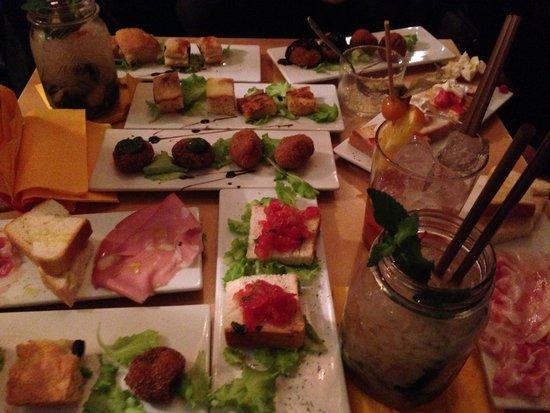 Deep Milano Cafe & Food: Deep aperitivo