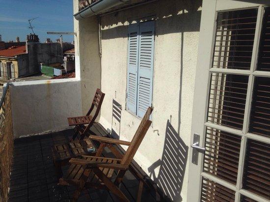 Hotel Vertigo - Centre : Superbe balcon