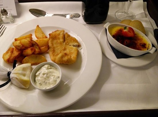Macdonald Randolph Hotel: My tiny meal