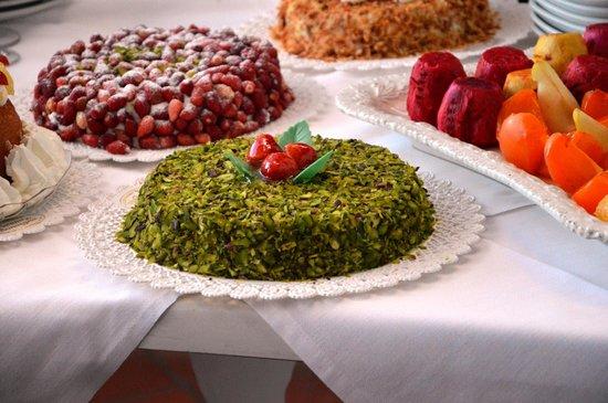 Pasticceria Verona & Bonvegna: torta al pistacchio