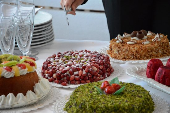 Pasticceria Verona & Bonvegna: torta con fragoline e crema