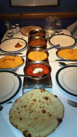 Brunel Raj: Dinner for 4, Oct 2014