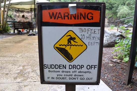 Waimea Valley: Warning Sign Over Kill