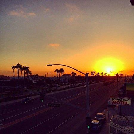 BEST WESTERN PLUS Newport Beach Inn: Balcony view