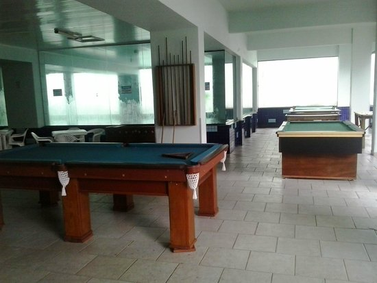Hotel Vieiras: Sala  de jogos