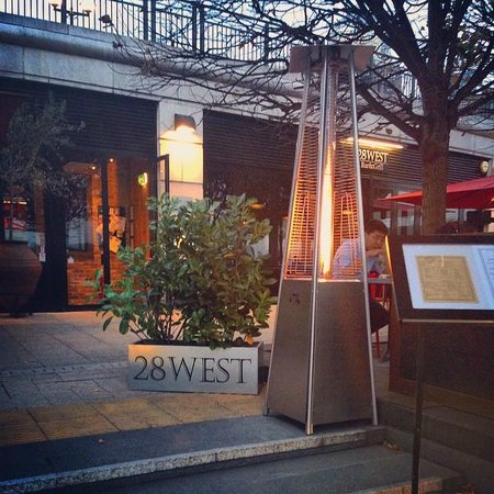 28 West: Keep Cosy With Our Outdoor Heat Lamps