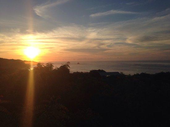 Morning view from Hridaya Yoga