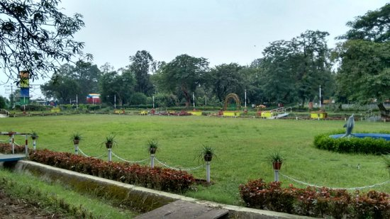 Durg, India: Park in Maitri Garden