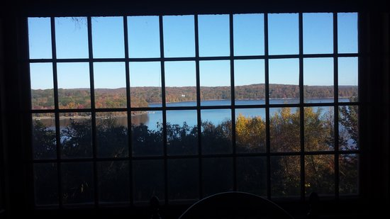 Lake Wallenpaupack: view from the cabin
