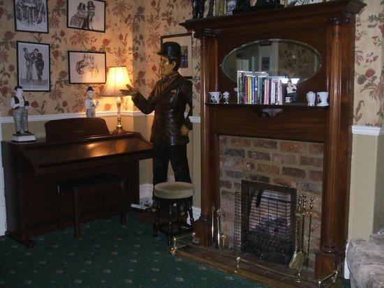 Wheatlands Lodge Hotel: Laurel & Hardy themed Bar