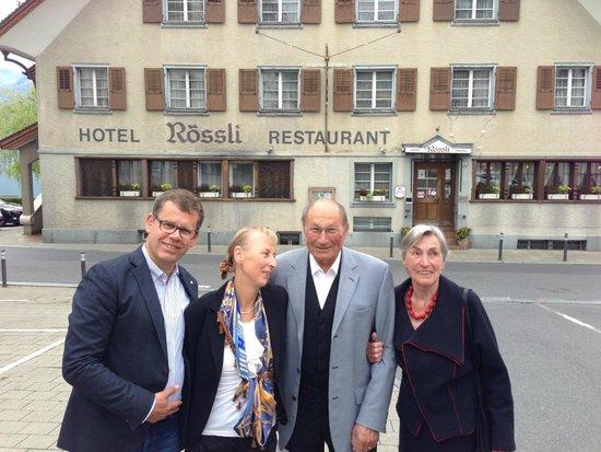 Restaurant Rossli: De voorkant van het hotel-restaurant