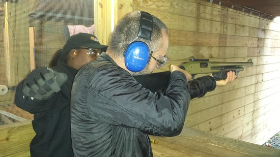 Sunset Hill Shooting Range: Serious power