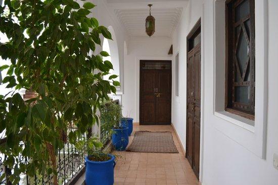 Riad Shaloma: couloir
