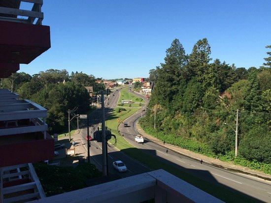 Hotel Galo Vermelho: Vista do apartamento