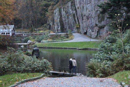 Ravnedalen Naturpark: The pond