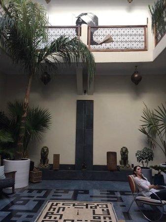 Dar Ait Sbaa : vue intérieur