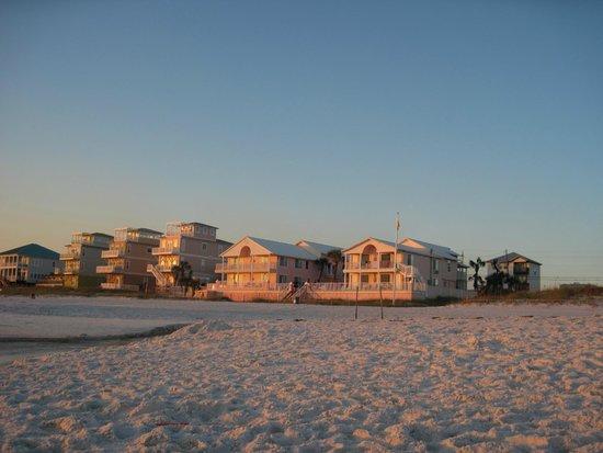 Pineapple Beach Villas : View from the Beach