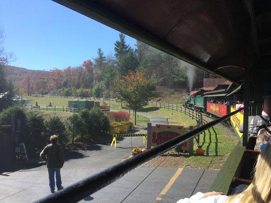 Tweetsie Railroad: Steam train
