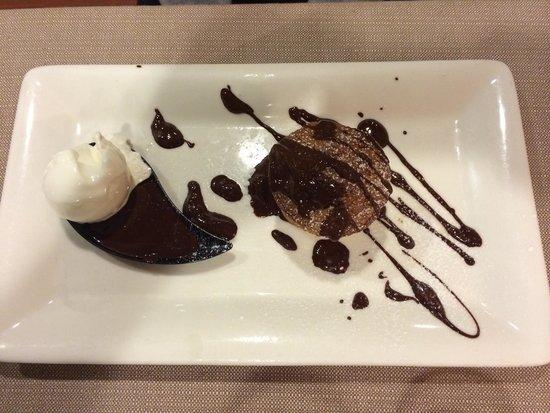 Ristorante dei Consoli : Tortino al cioccolato