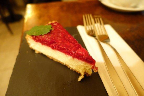 Tempo Allegro: Raspberry cheesecake